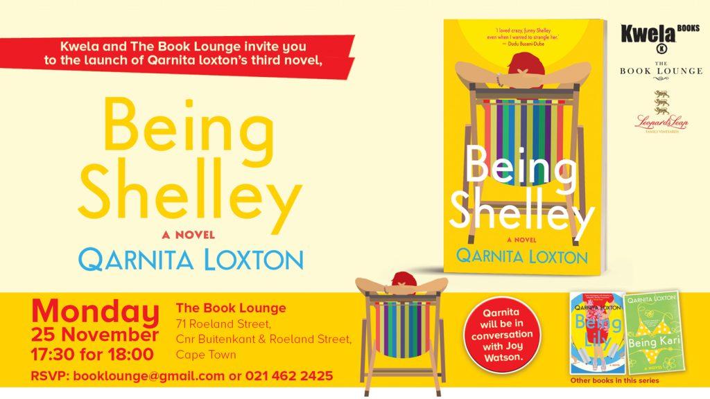Qarnita Loxton at The Book Lounge 25 Nov